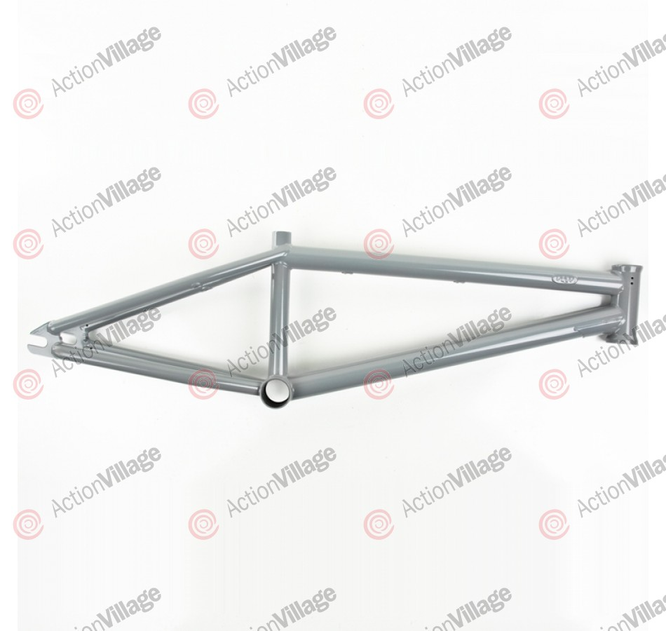 Deco Self Titled - 20.5 Inch - Grey - BMX Bike Frame