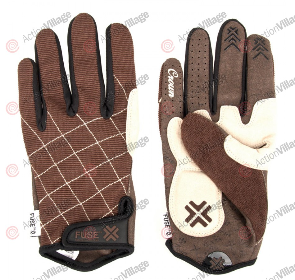 We The People Fuse King Crown - Brown - Men's Gloves - Large