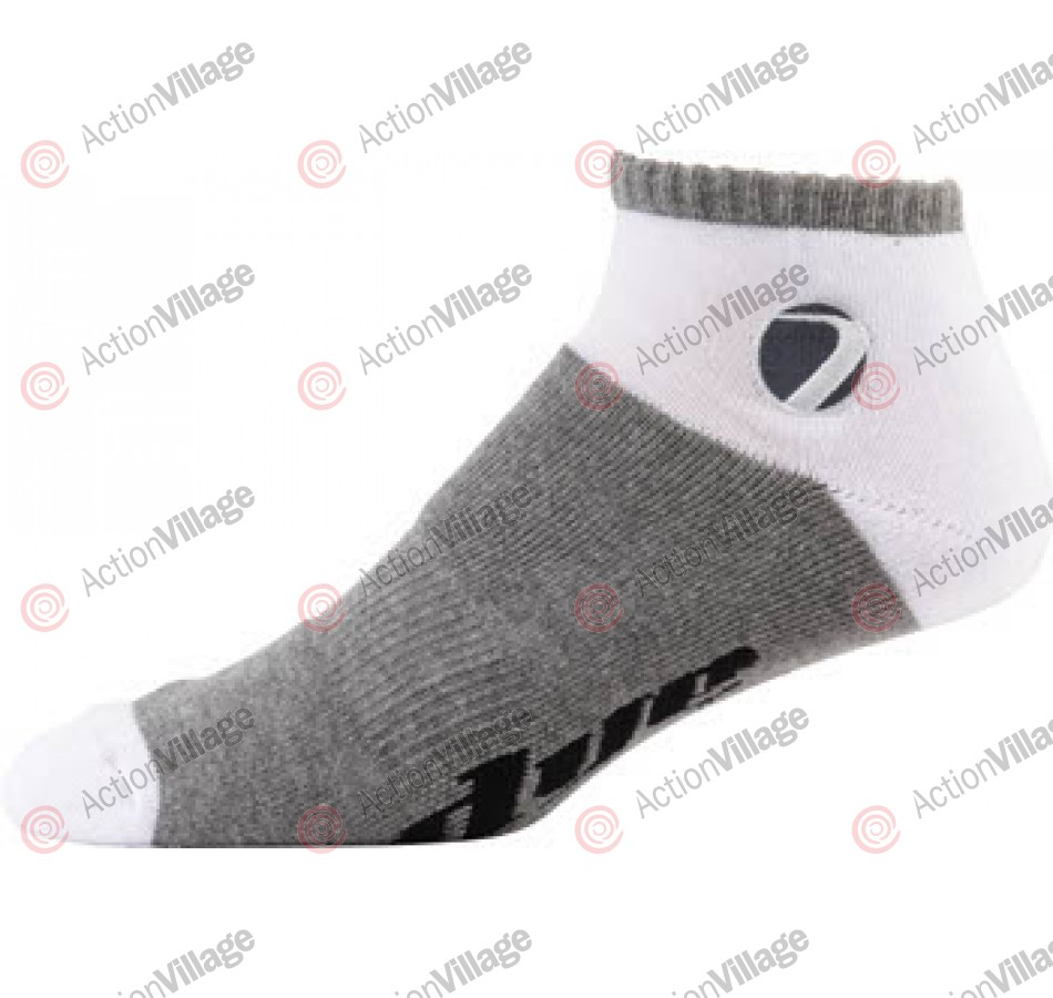 Dye Low Cut Socks - White/Grey