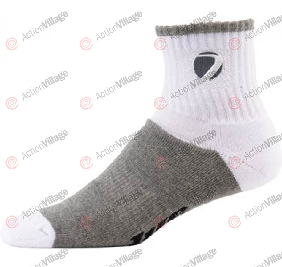 Dye Sport Socks - White/Grey