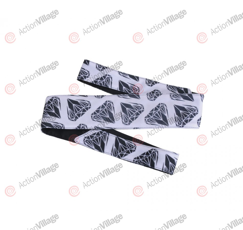 HK Army Headband - Diamond White/Black