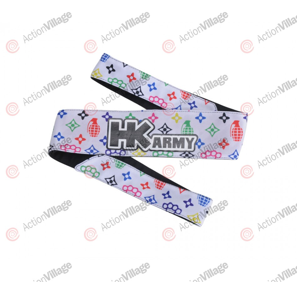 HK Army Headband - HK Grenade White