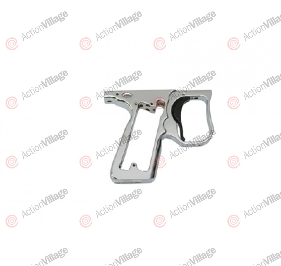 ANS Race Frame - Chrome W/ Black Trigger