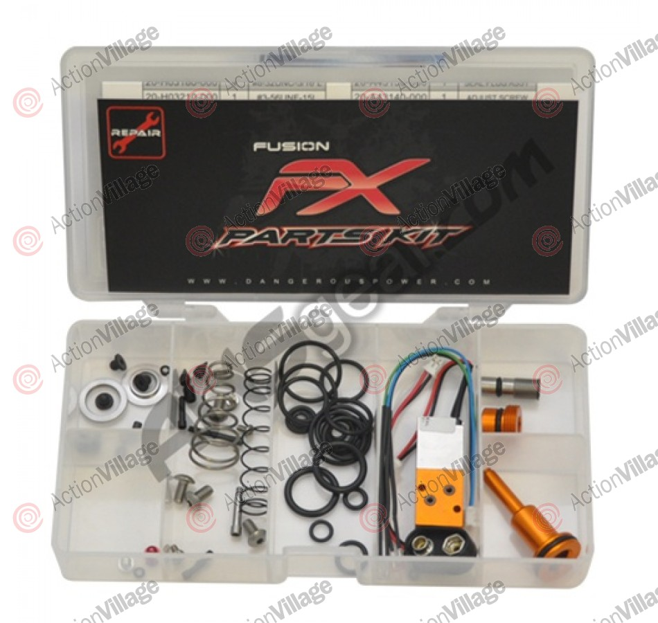 Dangerous Power Fusion FX Parts Kit