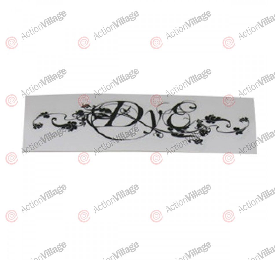 Dye Paintball Sticker Eve - Black