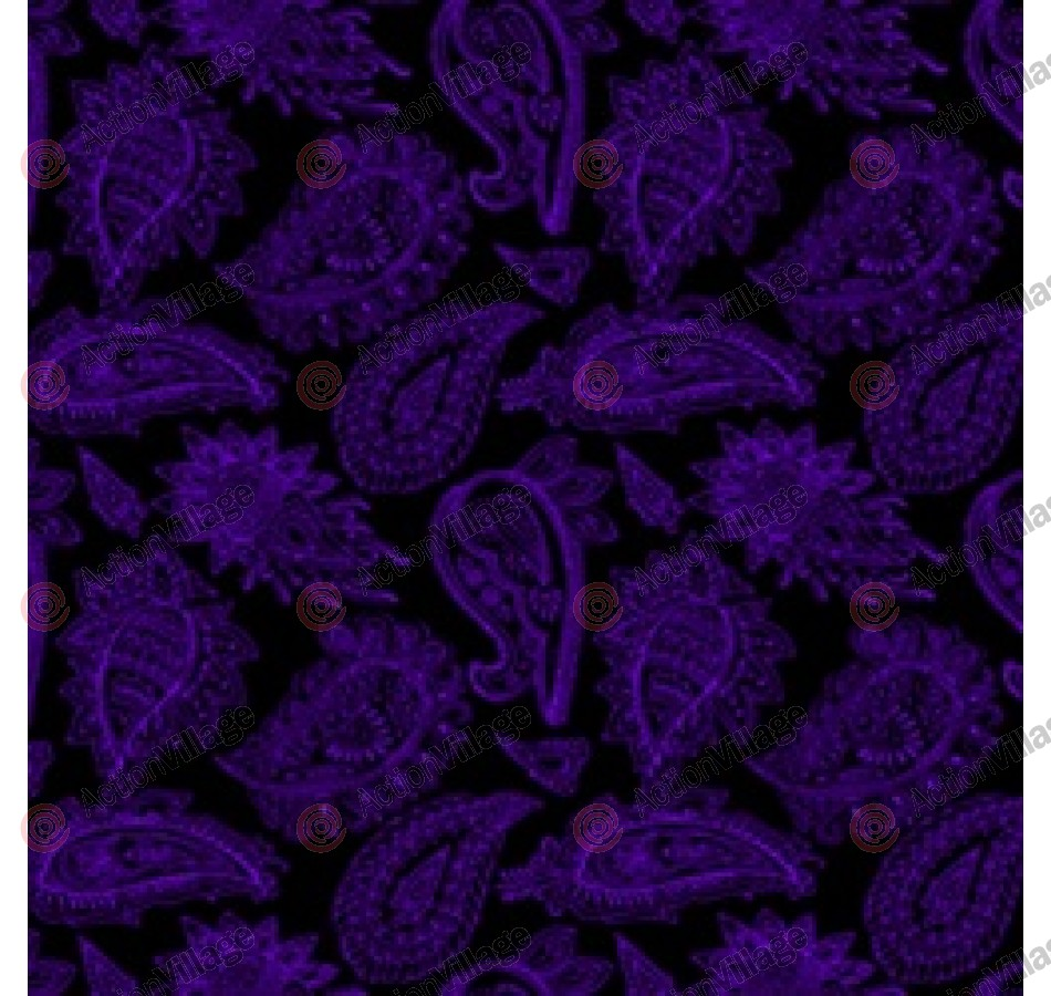 Stinger Paintball Designs Custom Soft Ears - Bandana - Purple/Black