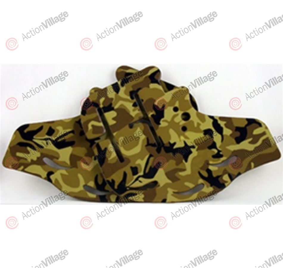 Stinger Paintball Designs Custom Soft Ears - Old School Camo - Desert