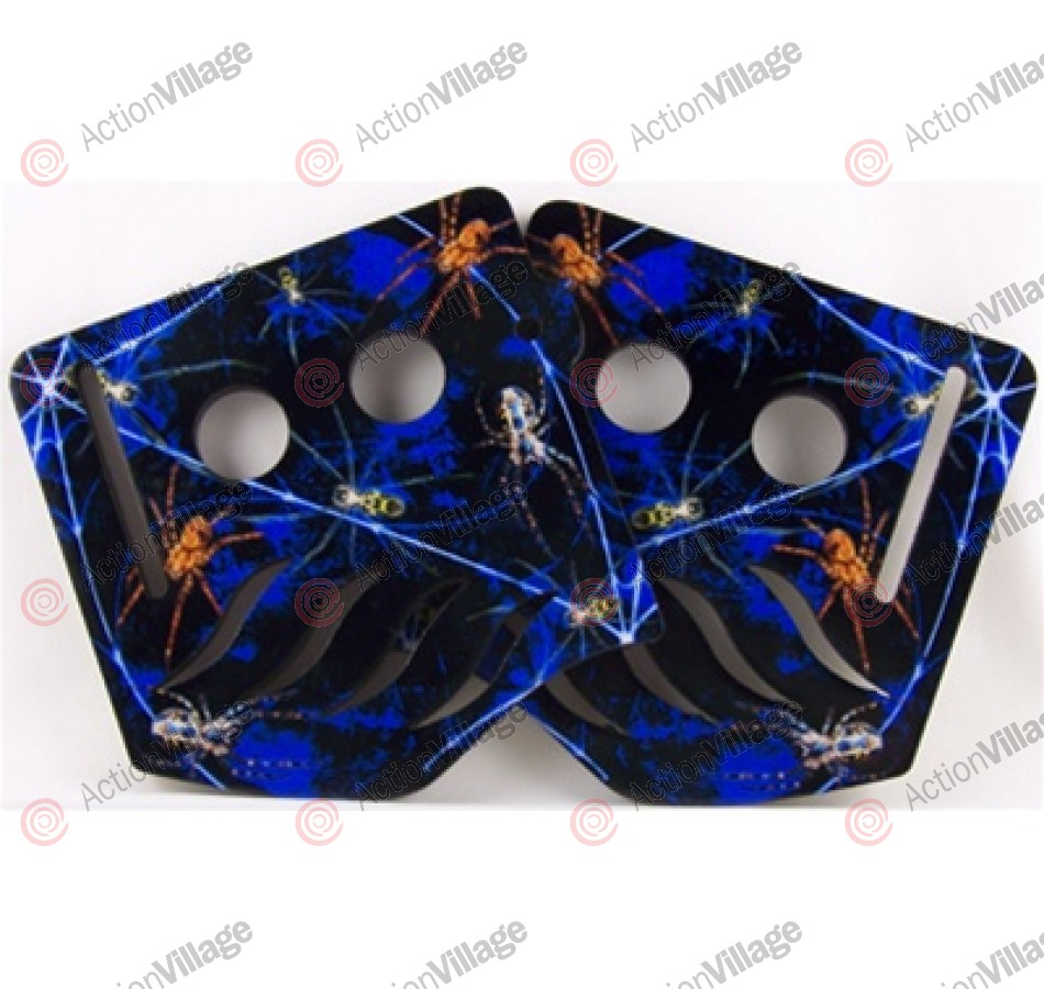 Stinger Paintball Designs Custom Soft Ears - Creepie Crawlie - Blue
