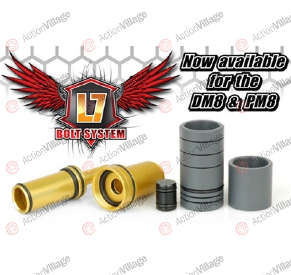 TechT DM8/PM8 L7 Bolt System & Bolt Spacer Kit