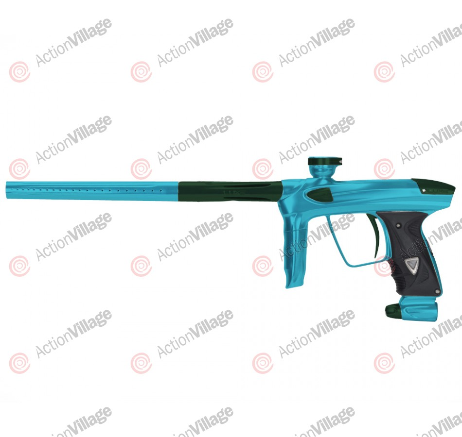 DLX Luxe 2.0 Paintball Gun - Dust Teal/British Racing Green