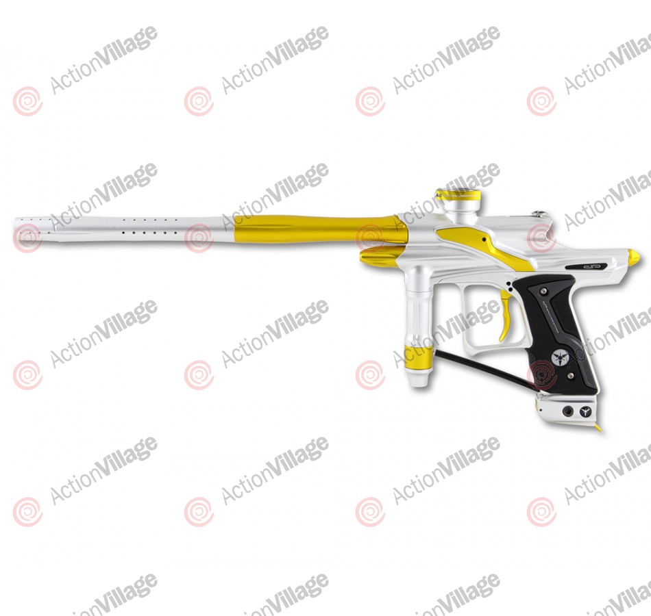 Dangerous Power Fusion FX Paintball Gun - White/Yellow