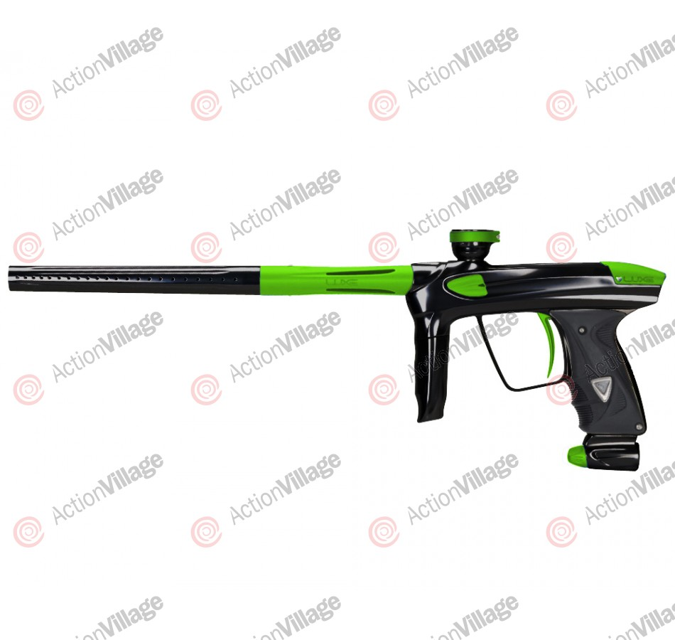 DLX Luxe 2.0 Paintball Gun - Black/Dust Slime Green