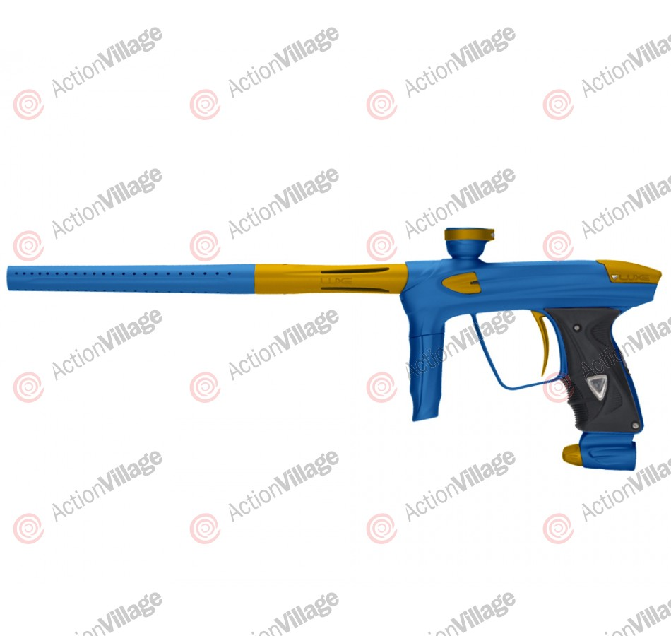 DLX Luxe 2.0 Paintball Gun - Dust Blue/Dust Gold