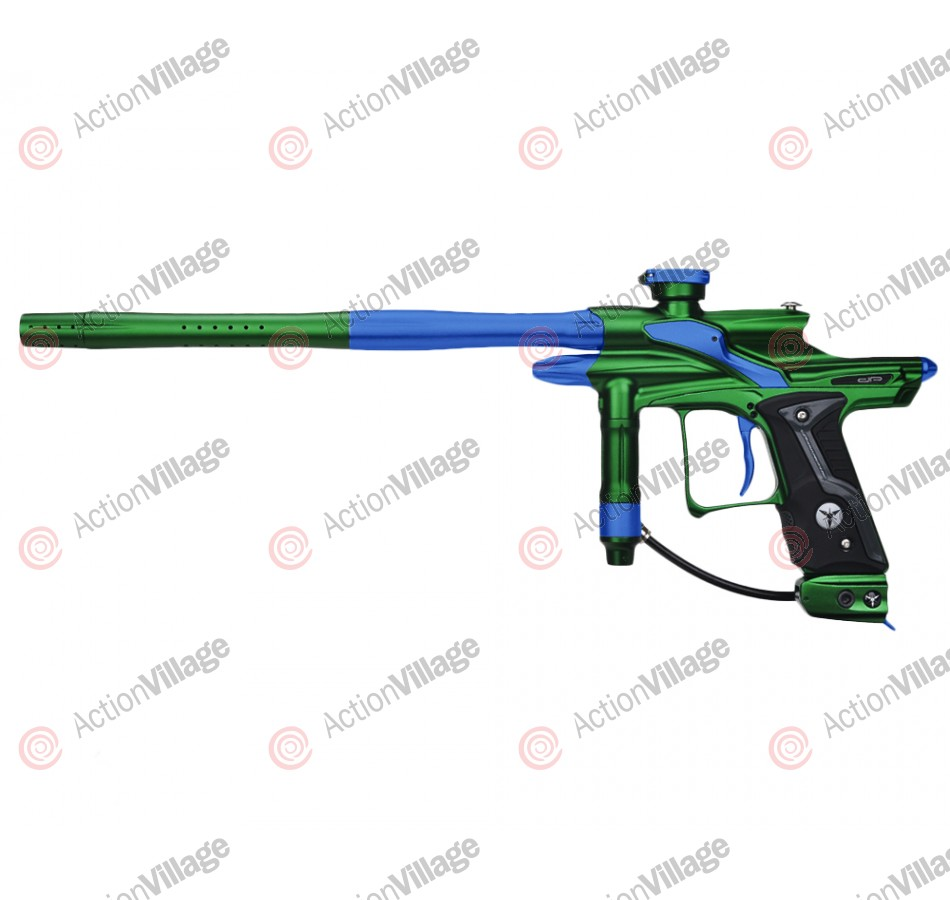 Dangerous Power Fusion FX Paintball Gun - Green/Blue