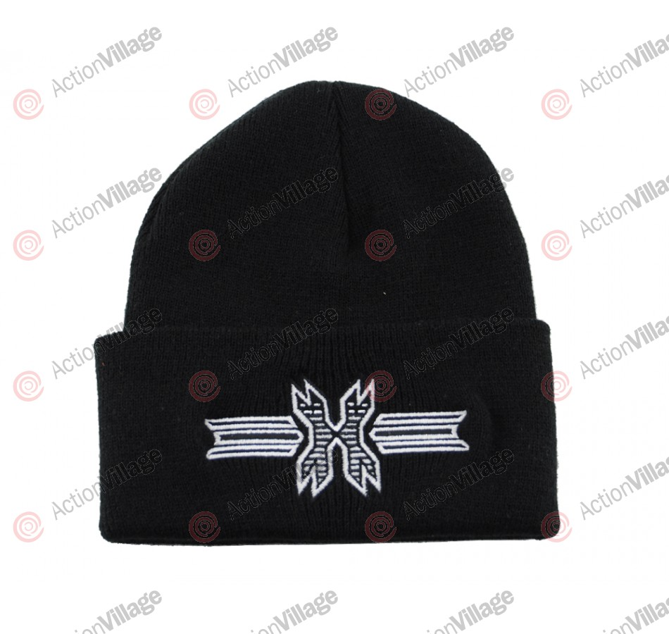 HK Army Icon Beanie - Black/White Stitch