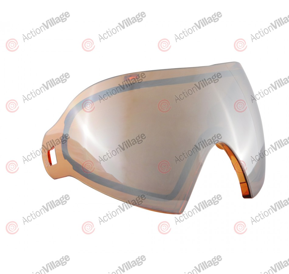 Dye I4 Thermal Mask Lens - Dyetanium Orange Silver