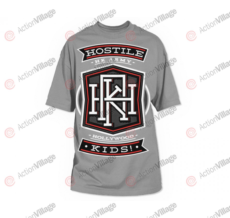 HK Army Monogram Paintball T-Shirt - Grey