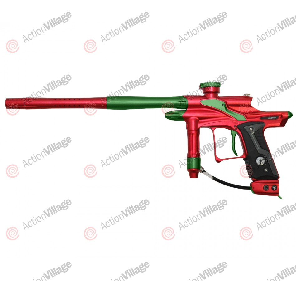 Dangerous Power Fusion FX Paintball Gun - Red/Green