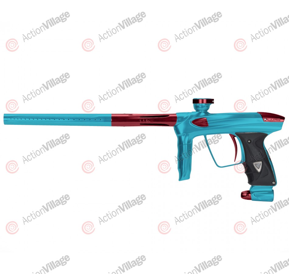 DLX Luxe 2.0 Paintball Gun - Teal/Red
