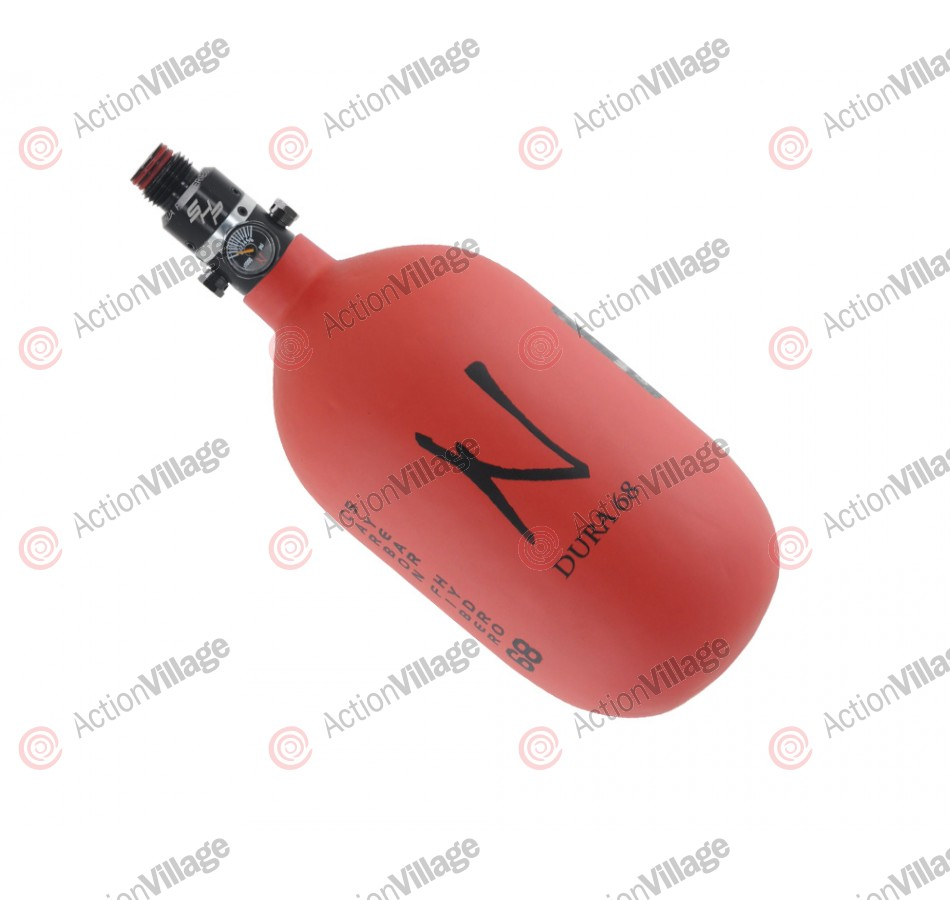 Ninja Dura Pro SHP Carbon Fiber Air Tank - 68/4500 - Red