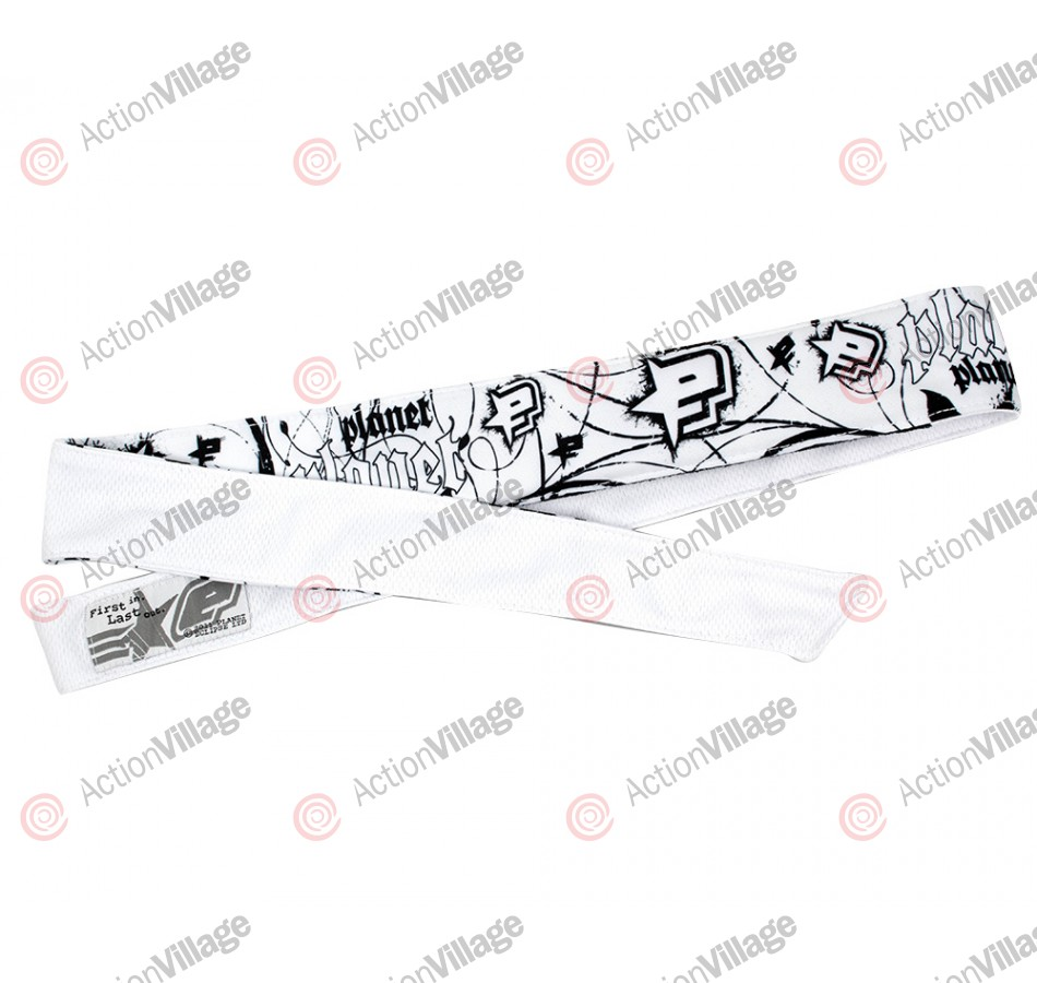 Planet Eclipse 2013 Ink Headband - White