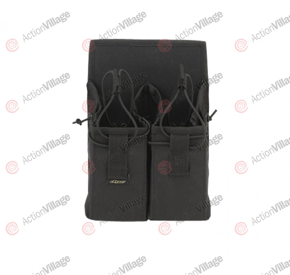 2013 Dye Tactical Double Clip Pouch - Black