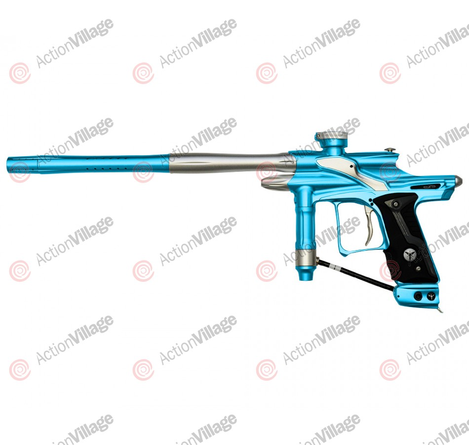 Dangerous Power Fusion FX Paintball Gun - Teal/Silver