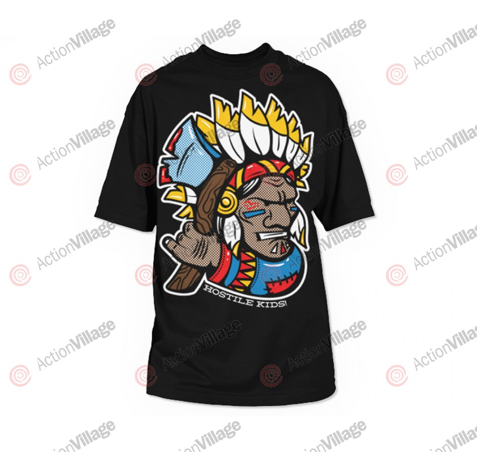 HK Army Indian Paintball T-Shirt - Black