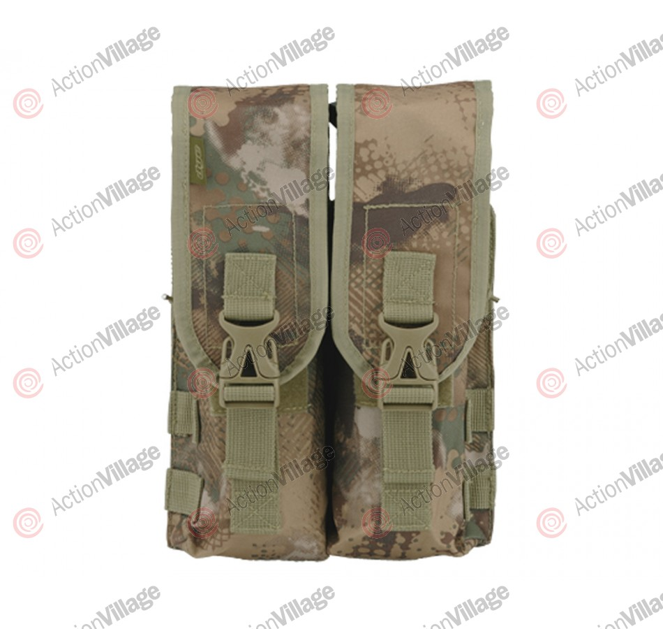 2013 Dye Tactical Locking Lid Pouch - Double - DyeCam