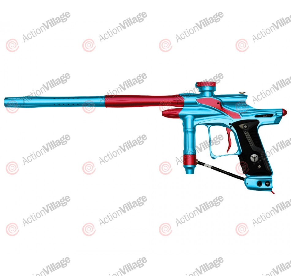 Dangerous Power Fusion FX Paintball Gun - Teal/Red