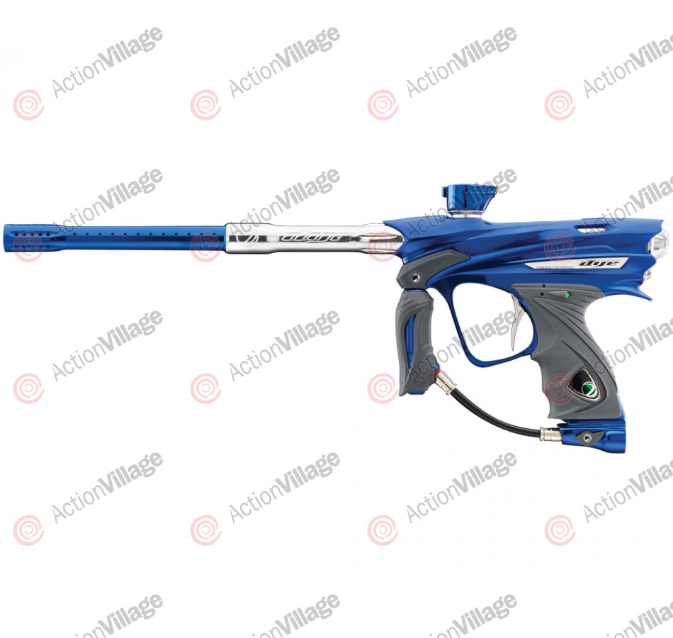 Dye DM13 Paintball Gun - Blue/Clear