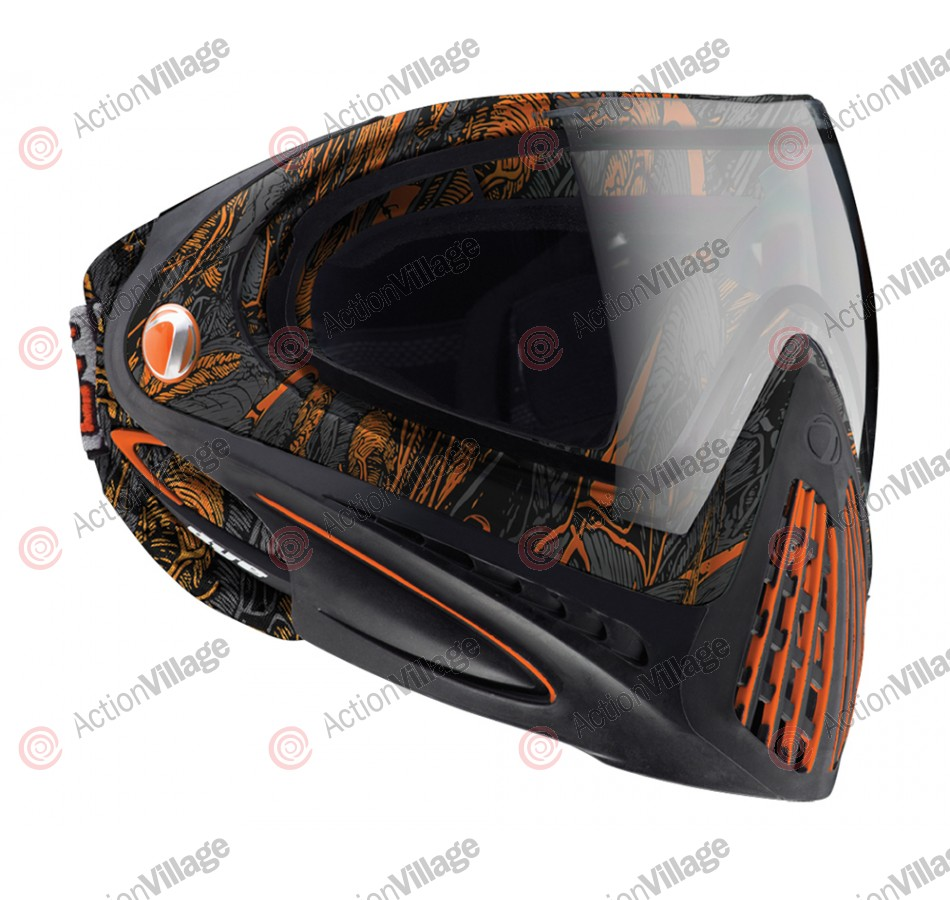 2013 Dye Invision Goggle I4 Pro Mask - Dyetree Orange