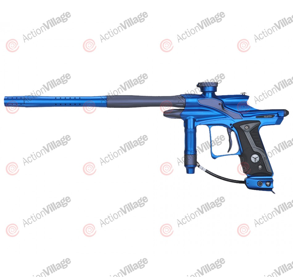 Dangerous Power Fusion FX Paintball Gun - Blue/Pewter