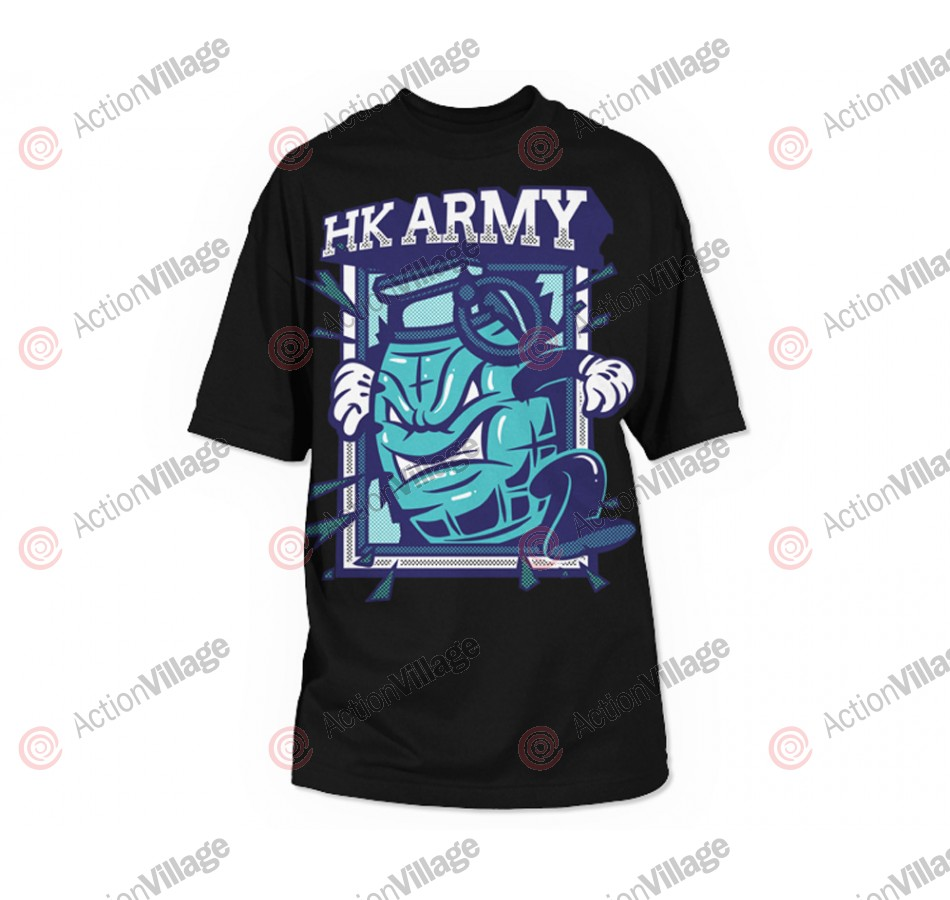 HK Army Grenade Paintball T-Shirt - Black
