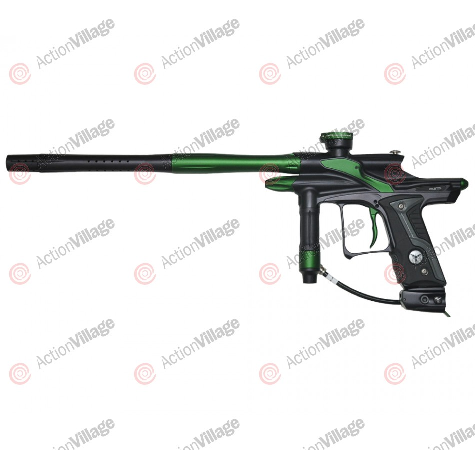 Dangerous Power Fusion FX Paintball Gun - Black/Green