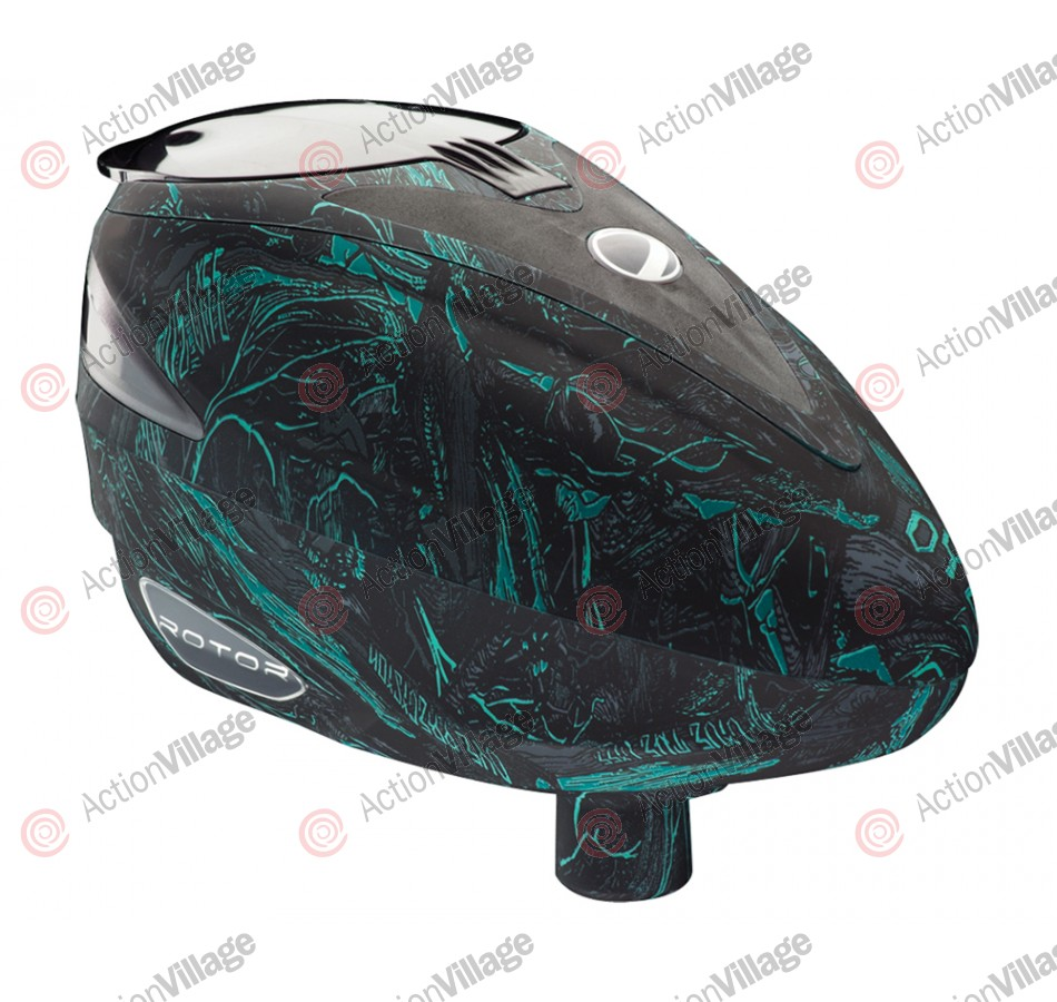 2013 Dye Rotor Paintball Loader - Dyetree Aqua