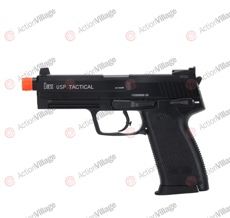 KWA H&K USP Tactical Gas Airsoft Pistol - Black