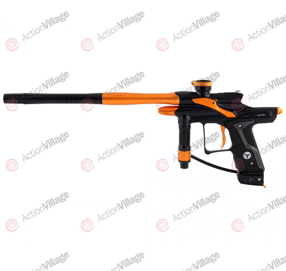 Dangerous Power Fusion FX Paintball Gun - Black/Orange