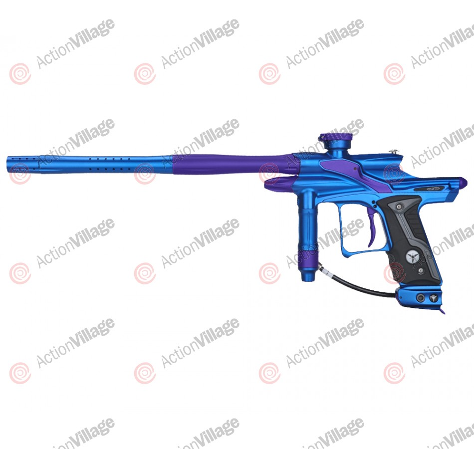 Dangerous Power Fusion FX Paintball Gun - Blue/Purple
