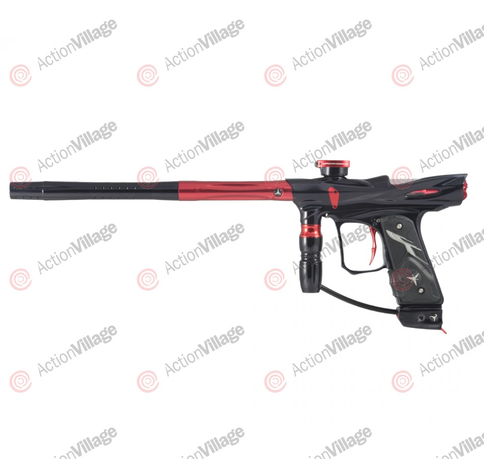 Dangerous Power Rev-i Paintball Gun - Black/Red