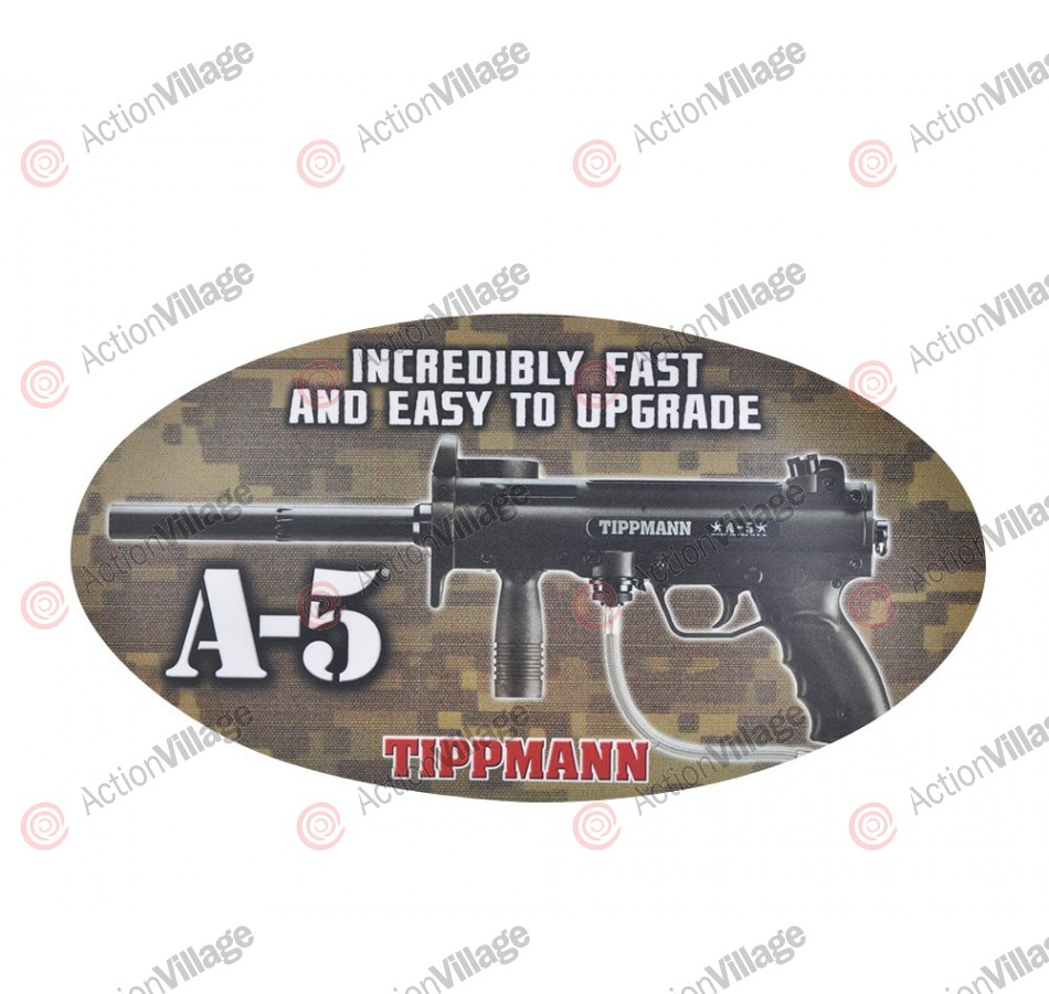 Tippmann A5 Sticker - 15 1/2