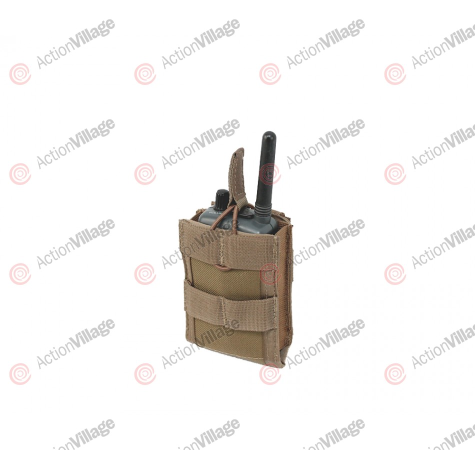 Full Clip Gen 2 Radio Pouch - Coyote