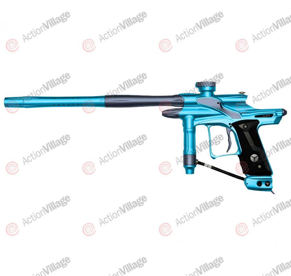 Dangerous Power Fusion FX Paintball Gun - Teal/Pewter