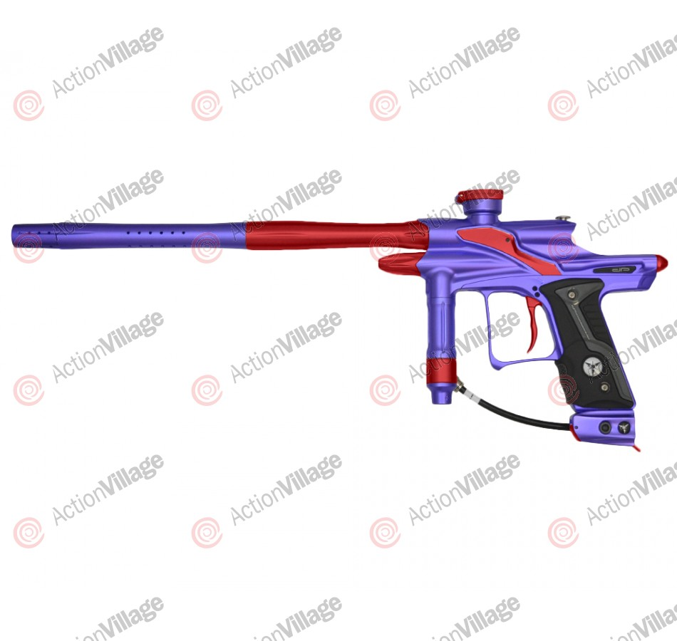 Dangerous Power Fusion FX Paintball Gun - Purple/Red