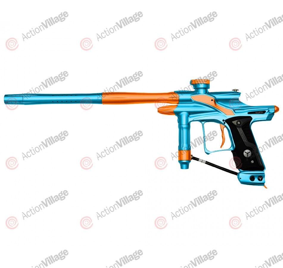 Dangerous Power Fusion FX Paintball Gun - Teal/Orange