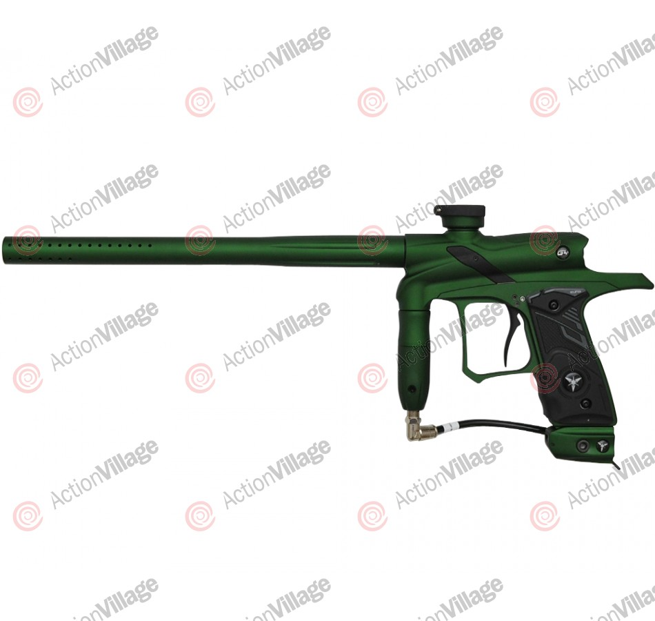 Dangerous Power G4 Paintball Gun - Green w/ Black