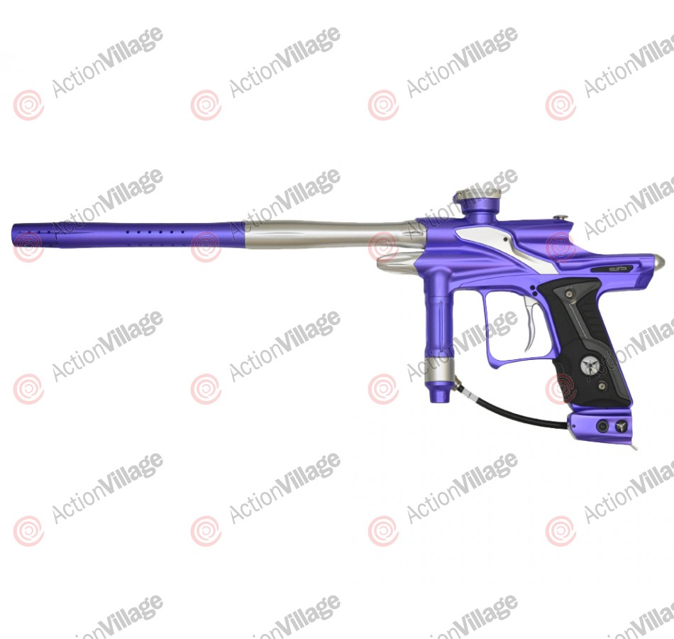 Dangerous Power Fusion FX Paintball Gun - Purple/Silver