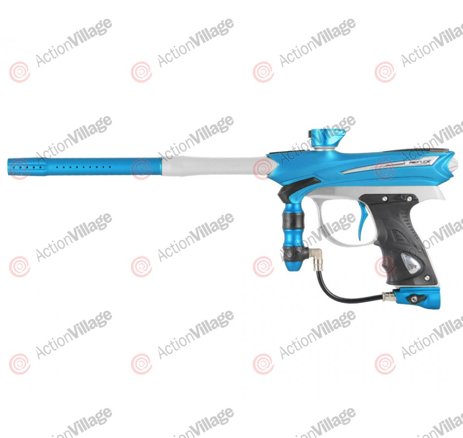 2013 Proto Reflex Rail Paintball Gun - Teal/Clear