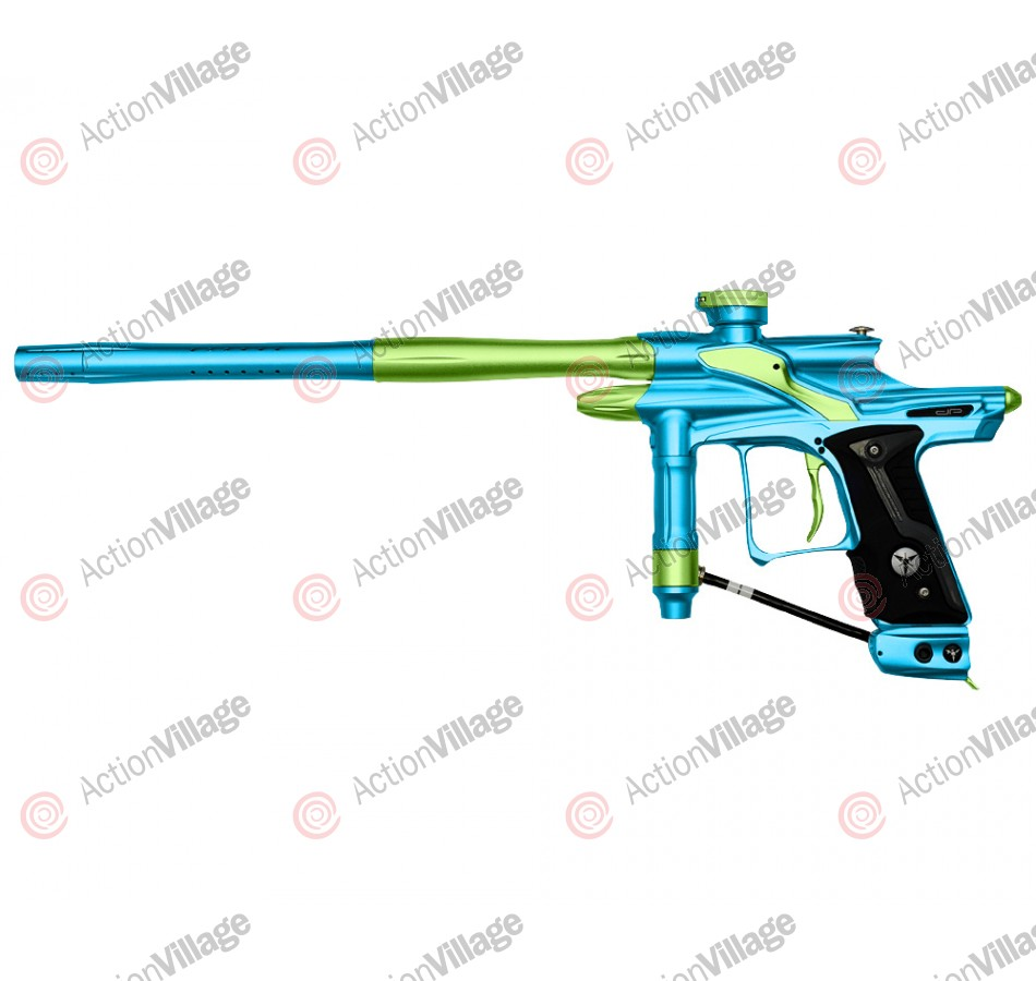 Dangerous Power Fusion FX Paintball Gun - Teal/Neon Green