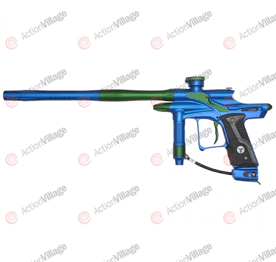 Dangerous Power Fusion FX Paintball Gun - Blue/Green